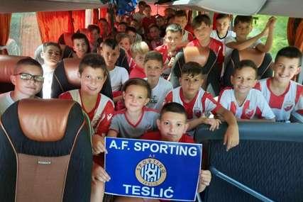VELIKA PODRŠKA Uz Zvezdu i mališani iz Republike Srpske (FOTO)