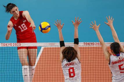 JAK OTPOR JAPANA Sjajan učinak Tijane Bošković za pobjedu