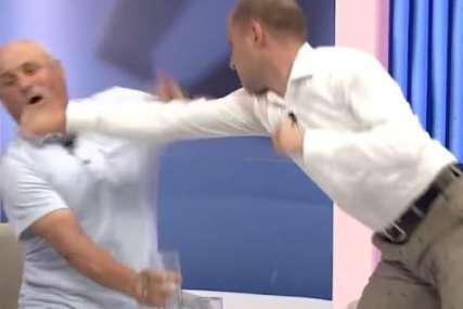 HAOS U STUDIJU Političari se potukli u emisiji uživo (VIDEO)