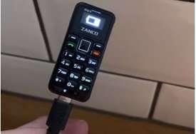 Baterija može da mu traje tri dana: Ovo je najmanji mobilni telefon na svijetu (VIDEO)
