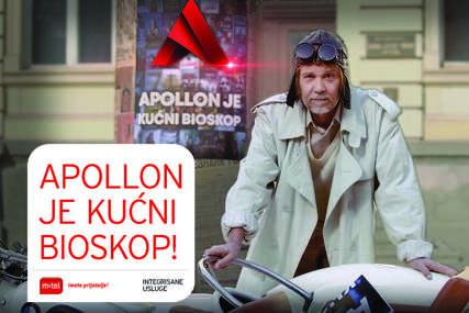 Apollon - vaš kućni bioskop: Besplatno do kraja avgusta za sve m:tel IPTV korisnike