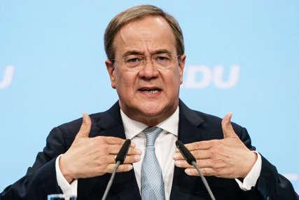 MERKELOVA PRUŽILA PODRŠKU LAŠETU Kandidat CDU poručio da će se svim silama boriti za pobjedu