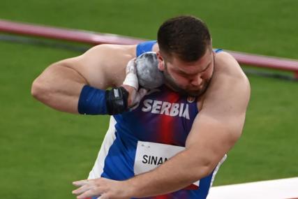 BEZ MEDALJE Sinančević sedmi u bacanju kugle, Pezer završio na 11. mjestu