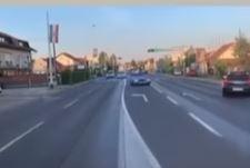 Drama na putu: Divljao automobilom i palio gume nasred ulice, POLICIJA ODBILA PRIJAVU (VIDEO)