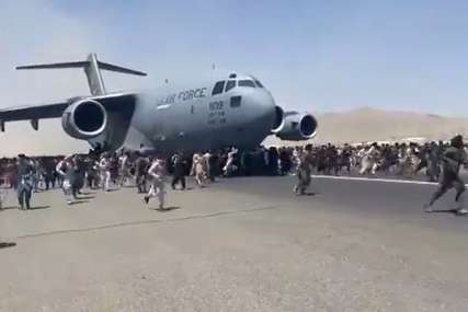 """""""Vrijeme je da se zatvori ova faza operacije"""" Okončana evakuacija civila sa aerodroma u Kabulu"""