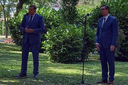 """""""Nametnute odluke nikada nisu dobre"""" Vučić sa Dodikom, rukovodstvom i opozicijom iz Srpske o Inckovim potezima"""