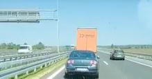 BRŽI OD METKA Kamion na auto-putu ide 150 km/h (VIDEO)
