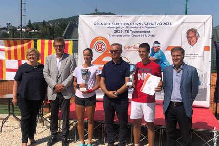 USPJEH MAKSIMOVIĆA Osvojio turnir iz kalendara Tenis Evrope, igrao finale Dubla