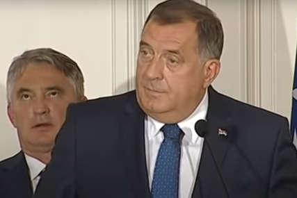 Dodik za njega rekao da MLATARA: Komšić tvrdi da su se SNSD i HDZ obavezali da će odbaciti konstitutivnost