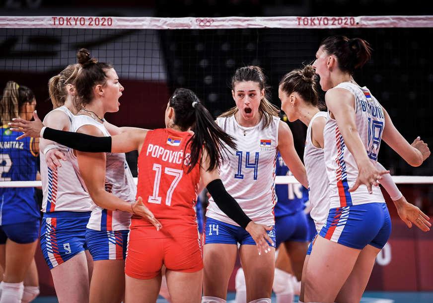 SRBIJA UBJEDLJIVA PROTIV KOREJE Odbojkašice sa drugog mjesta idu u četvrtfinale