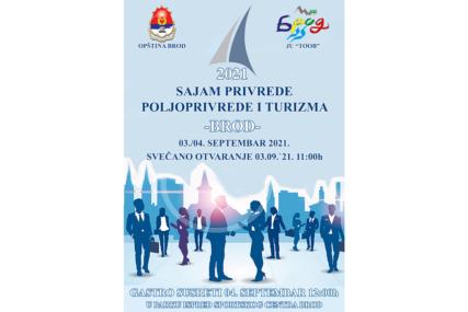 Sajam privrede, poljoprivrede i turizma 3. i 4. septembra u Brodu (FOTO)