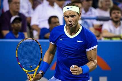 Nadal je zbog povrede završio tenisku sezonu, oprobao se u drugom sportu i zauzeo šesto mjesto na turniru