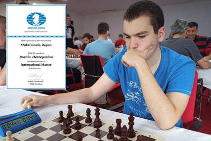 Svjetska šahovska federacija potvrdila: Bojan Maksimović zvanično MEĐUNARODNI MAJSTOR
