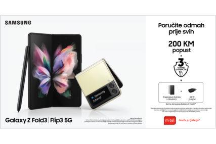 Poručite Galaxy Z Fold3 5G i Flip3 5G prije svih