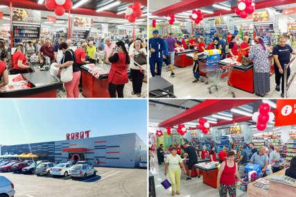 Otvoren hipermarket Robot u Kalesiji (FOTO)