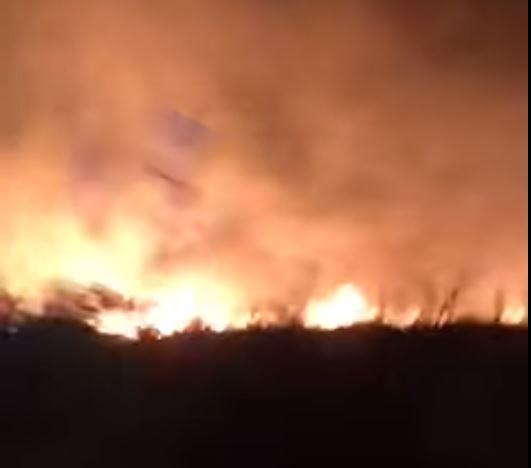 NOVI POŽARI BLIZU ATINE Vatrogasci se cijelu noć borili sa vatrenom stihijom, nekoliko porodica ostalo bez krova nad glavom