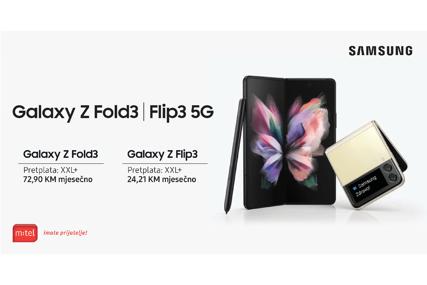Pripremite se da otvorite svoj svijet: Novi Galaxy Z Fold3 i Z Flip3 na klik od vas u m:tel ponudi