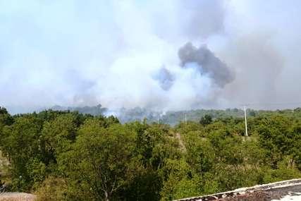 POŽAR U SELU BANČIĆI Požarna linija oko osam kilometara