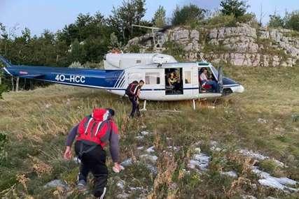 Zalutali u kanjon: Spaseni državljani Poljske koji su se izgubili na Durmitoru