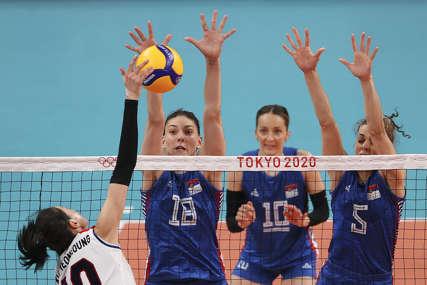 ODBOJKAŠICE U POLUFINALU Srbija preko Italije ušla u borbu za medalju na Olimpijadi