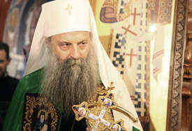 """Sedmicama najgledaniji u Grčkoj: Patrijarh Porfirije na premijeri filma o svetom Nektariju """"Božiji čovjek"""""""