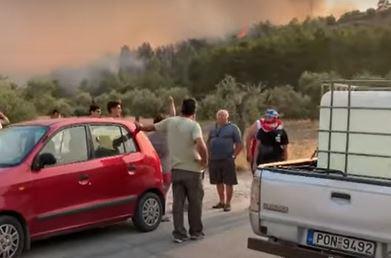 """Micotakis o požarima """"Radimo sve sto je u ljudskoj moći"""""""