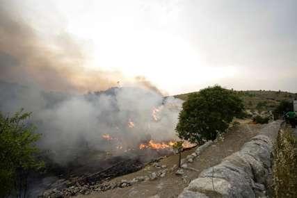 Buktinja u Crnoj Gori: Požar u kanjonu Tare prerasta u DVA ODVOJENA