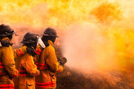 VELIKI POŽAR NA BRAČU zatražena i pomoć svih ostrvskih snaga za gašenje vatre