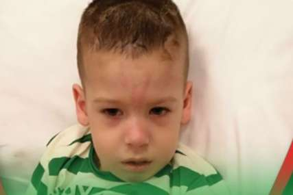 Mali Stefan (4) je VELIKI BORAC: Dječak je sa 9 mjeseci imao 30 epi napada dnevno, a danas se smije i govori