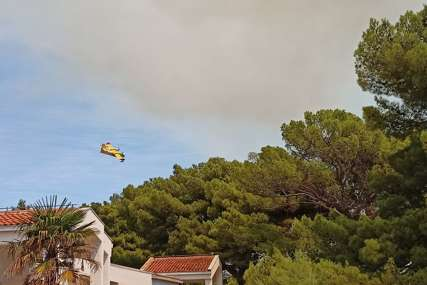 Vatra se ne stišava: Ponovo se razbuktao požar kod Trogira