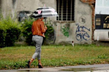 PRAVI JESENJI DAN Sutra u BiH slaba kiša, temperatura do 19 stepeni