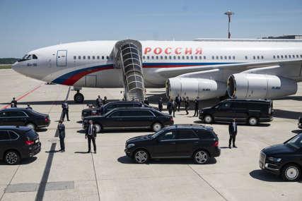 """KREMLJ U VAZDUHU Putinov predsjednički avion s pravom nosi epitet """"letjelica br. 1"""" (FOTO,VIDEO)"""