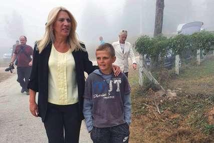 JOVANČE UGOSTIO PREDSJEDNICU Cvijanovićeva posjetila porodicu Gajić na Manjači