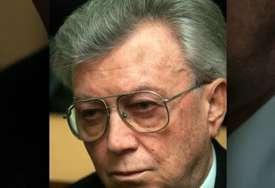 Bio je predsjednik Predsjedništva SFRJ pred raspad države: Borisav Jović sahranjen u Aleji zaslužnih građana