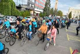 """""""Dva točka su dovoljna"""" Biciklijadom obilježen Dan bez automobila"""