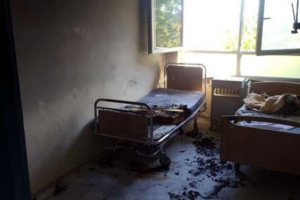 Opušak cigarete zapalio bolničku sobu: Srpskainfo otkriva uzrok požara u dobojskoj bolnici