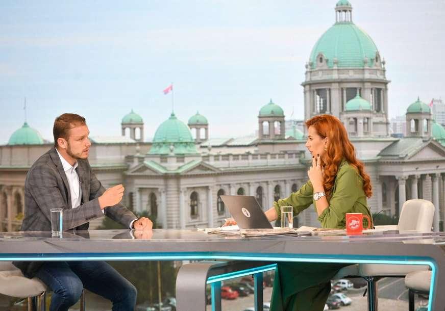 """""""On i ja ne razgovaramo"""" Stanivuković poručuje da se njegovi i Dodikovi politički stavovi razlikuju"""