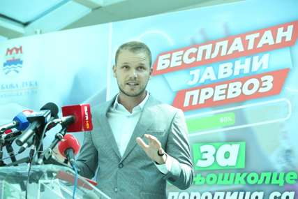 Stanivuković: Od novembra besplatan prevoz za penzionere sa minimalnom penzijom i za djecu iz višečlanih porodica (FOTO)