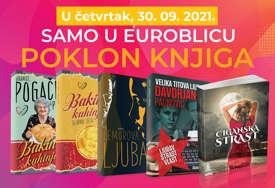 """""""EUROBLIC"""" PONOVO DARUJE Obogatite kućnu biblioteku uz poklon knjigu"""