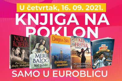 """ROMAN NA POKLON Obogatite svoju biblioteku uz """"EuroBlic"""""""