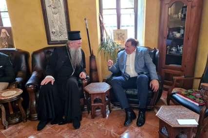 """""""Važan čovjek SPC i vjere"""" Dodik se sastao sa mitropolitom Joanikijem"""