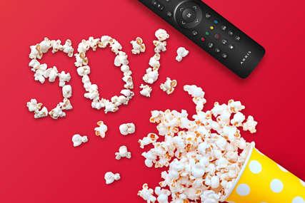 Najbolja TV zabava u pola cijene: Uz m:tel integrisane pakete jedino što trebate su kokice i udobna fotelja