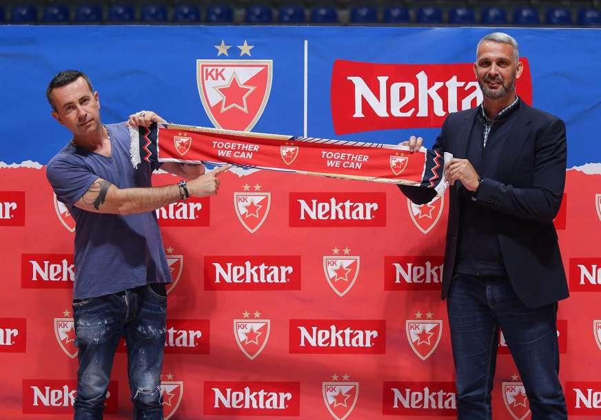 Potpisana trogodišnja saradnja: Nektar pivo novi sponzor KK Crvena zvezda
