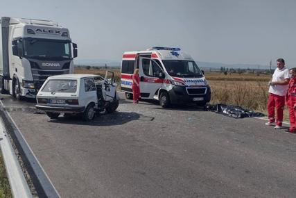 """""""Iznenada je izletio ispred kamiona"""" Detalji tragedija kod Niša u kojoj je dvoje izgubilo život (FOTO, VIDEO)"""