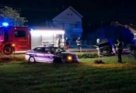 FILMSKA POTJERA ZA ZATVORENIKOM Ukrao kola i dao se u bijeg, a jurnjava je okončana udesom (VIDEO)