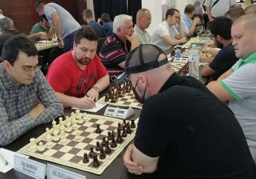 ŠESTA UZASTOPNA TITULA Sarajevska Bosna nastavila dominaciju u šahu BiH