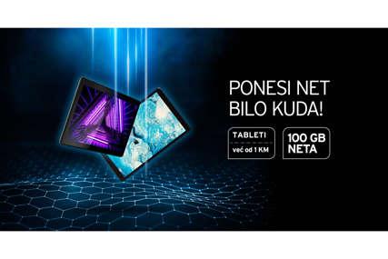 Ponesite 100 GB m:tel neta na novom tabletu!