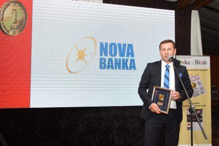 Nova banka a.d. Banja Luka DOBITNIK NAGRADE Zlatni BAM