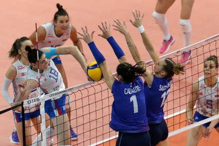 LAKŠI TRENING Srbija se poigrala sa Francuskom za plasman u polufinale Evropskog prvenstva