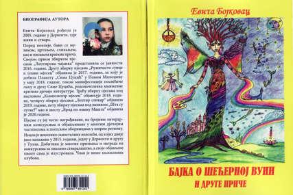 """Sedmo djelo mlade autorke: Objavljena knjiga """"Bajka o šećernoj vuni i druge priče"""" Evite Bojkovac"""